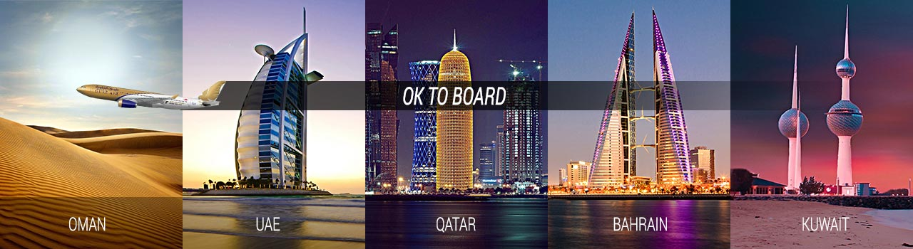 Ok to board banner